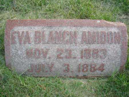 AMIDON, EVA BLANCH - Douglas County, Nebraska | EVA BLANCH AMIDON - Nebraska Gravestone Photos