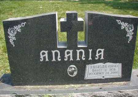ANANIA, ROSALBA (ROSE) - Douglas County, Nebraska | ROSALBA (ROSE) ANANIA - Nebraska Gravestone Photos