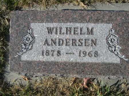 ANDERSEN, WILHELM - Douglas County, Nebraska | WILHELM ANDERSEN - Nebraska Gravestone Photos