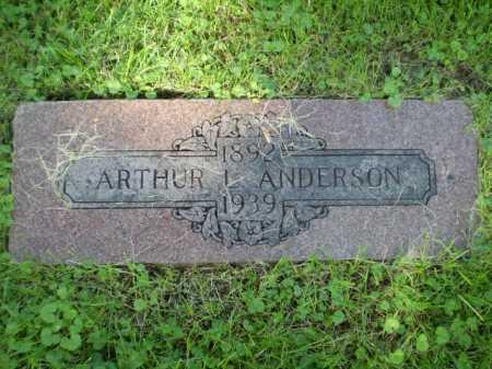 ANDERSON, ARTHUR L. - Douglas County, Nebraska | ARTHUR L. ANDERSON - Nebraska Gravestone Photos