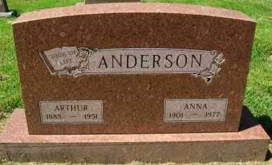 ANDERSON, ANNA - Douglas County, Nebraska | ANNA ANDERSON - Nebraska Gravestone Photos