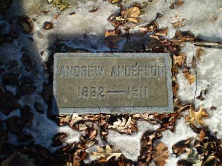 ANDERSON, ANDREW - Douglas County, Nebraska | ANDREW ANDERSON - Nebraska Gravestone Photos