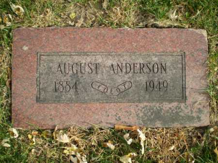 ANDERSON, AUGUST - Douglas County, Nebraska | AUGUST ANDERSON - Nebraska Gravestone Photos