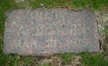 ANDERSON, BABY - Douglas County, Nebraska   BABY ANDERSON - Nebraska Gravestone Photos