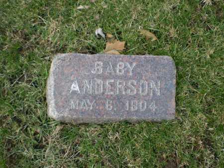 ANDERSON, BABY - Douglas County, Nebraska | BABY ANDERSON - Nebraska Gravestone Photos