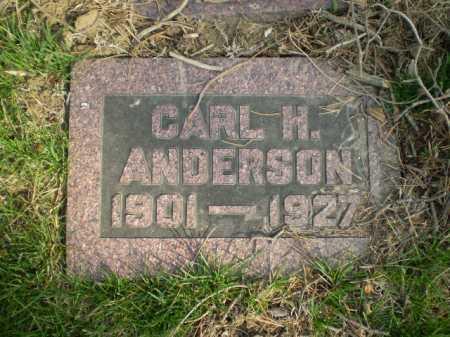 ANDERSON, CARL H. - Douglas County, Nebraska | CARL H. ANDERSON - Nebraska Gravestone Photos