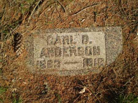 ANDERSON, CARL O. - Douglas County, Nebraska | CARL O. ANDERSON - Nebraska Gravestone Photos
