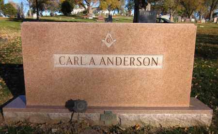 ANDERSON, CARL A. - Douglas County, Nebraska | CARL A. ANDERSON - Nebraska Gravestone Photos