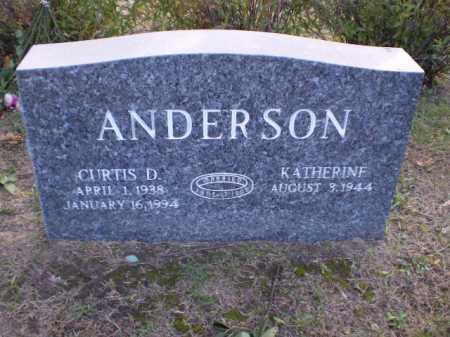 ANDERSON, CURTIS D - Douglas County, Nebraska | CURTIS D ANDERSON - Nebraska Gravestone Photos