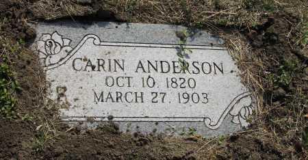 ANDERSON, CARIN - Douglas County, Nebraska   CARIN ANDERSON - Nebraska Gravestone Photos