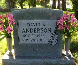 ANDERSON, DAVID A. - Douglas County, Nebraska   DAVID A. ANDERSON - Nebraska Gravestone Photos