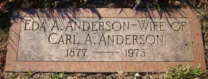 ANDERSON, EDA A. - Douglas County, Nebraska | EDA A. ANDERSON - Nebraska Gravestone Photos