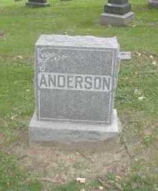 ANDERSON, FAMILY - Douglas County, Nebraska | FAMILY ANDERSON - Nebraska Gravestone Photos