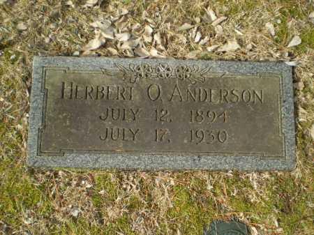 ANDERSON, HERBERT O. - Douglas County, Nebraska | HERBERT O. ANDERSON - Nebraska Gravestone Photos
