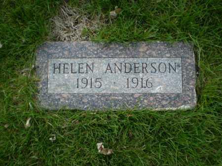 ANDERSON, HELEN J. - Douglas County, Nebraska | HELEN J. ANDERSON - Nebraska Gravestone Photos