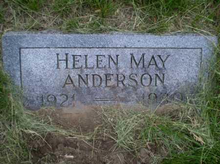 ANDERSON, HELEN MAY - Douglas County, Nebraska | HELEN MAY ANDERSON - Nebraska Gravestone Photos