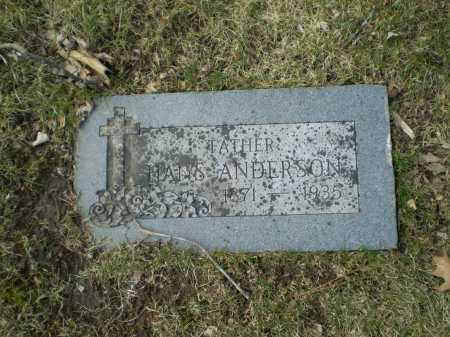 ANDERSON, HANS - Douglas County, Nebraska | HANS ANDERSON - Nebraska Gravestone Photos