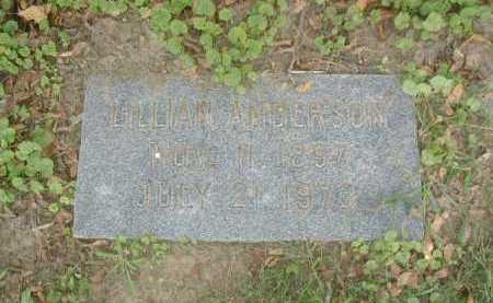 ANDERSON, LILLIAN - Douglas County, Nebraska | LILLIAN ANDERSON - Nebraska Gravestone Photos