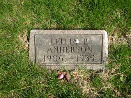ANDERSON, LELLIA P. - Douglas County, Nebraska   LELLIA P. ANDERSON - Nebraska Gravestone Photos