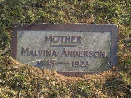 ANDERSON, MALVINA - Douglas County, Nebraska | MALVINA ANDERSON - Nebraska Gravestone Photos