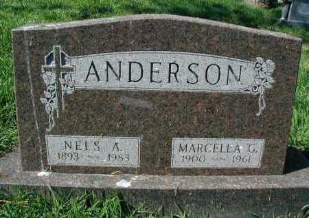 ANDERSON, NELS A - Douglas County, Nebraska   NELS A ANDERSON - Nebraska Gravestone Photos