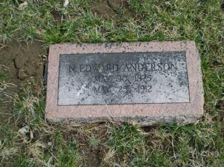 ANDERSON, N EDWARD - Douglas County, Nebraska | N EDWARD ANDERSON - Nebraska Gravestone Photos