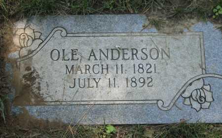 ANDERSON, OLE - Douglas County, Nebraska | OLE ANDERSON - Nebraska Gravestone Photos