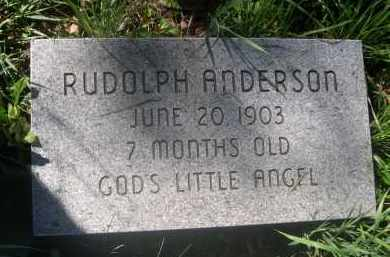 ANDERSON, RUDOLPH - Douglas County, Nebraska | RUDOLPH ANDERSON - Nebraska Gravestone Photos