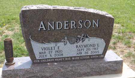 ANDERSON, RAYMOND L. - Douglas County, Nebraska | RAYMOND L. ANDERSON - Nebraska Gravestone Photos