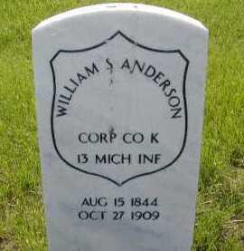 ANDERSON, WILLIAM S - Douglas County, Nebraska   WILLIAM S ANDERSON - Nebraska Gravestone Photos