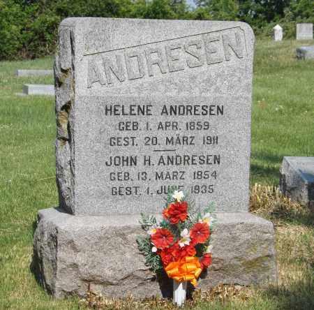 ANDRESEN, HELENE - Douglas County, Nebraska | HELENE ANDRESEN - Nebraska Gravestone Photos