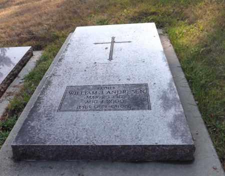 ANDRESEN, WILLIAM J. - Douglas County, Nebraska | WILLIAM J. ANDRESEN - Nebraska Gravestone Photos
