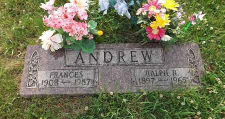 ANDREW, RALPH R. - Douglas County, Nebraska | RALPH R. ANDREW - Nebraska Gravestone Photos