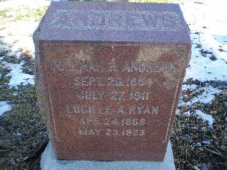 ANDREWS, LUCILLE A - Douglas County, Nebraska | LUCILLE A ANDREWS - Nebraska Gravestone Photos