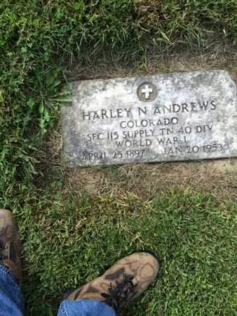 ANDREWS, HARLEY - Douglas County, Nebraska | HARLEY ANDREWS - Nebraska Gravestone Photos