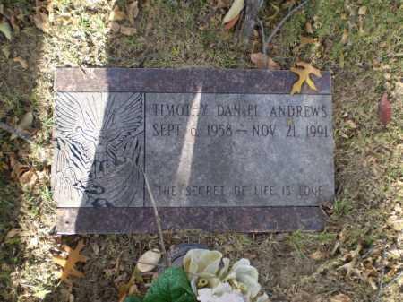 ANDREWS, TIMOTHY DANIEL - Douglas County, Nebraska   TIMOTHY DANIEL ANDREWS - Nebraska Gravestone Photos