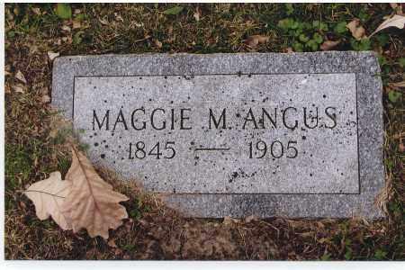ANGUS, MAGGIE M. - Douglas County, Nebraska | MAGGIE M. ANGUS - Nebraska Gravestone Photos