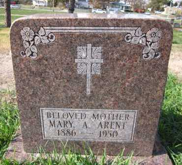 ARENT, MARY A. - Douglas County, Nebraska | MARY A. ARENT - Nebraska Gravestone Photos