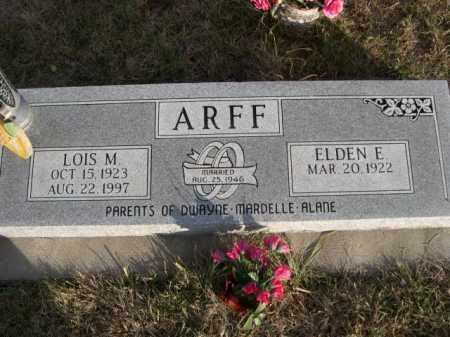 ARFF, LOIS M. - Douglas County, Nebraska | LOIS M. ARFF - Nebraska Gravestone Photos