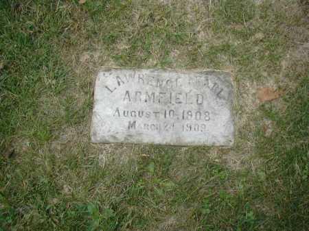 ARMFIELD, LAWRENCE EARL - Douglas County, Nebraska | LAWRENCE EARL ARMFIELD - Nebraska Gravestone Photos