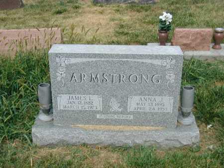 ARMSTRONG, ANNA J - Douglas County, Nebraska | ANNA J ARMSTRONG - Nebraska Gravestone Photos