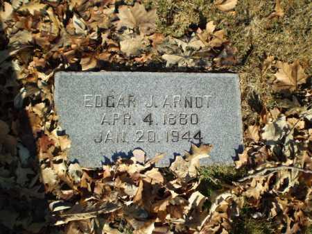 ARNOT, EDGAR J - Douglas County, Nebraska   EDGAR J ARNOT - Nebraska Gravestone Photos