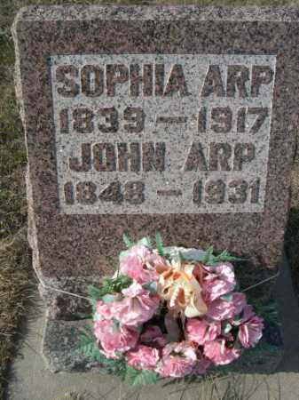 ARP, JOHN - Douglas County, Nebraska | JOHN ARP - Nebraska Gravestone Photos