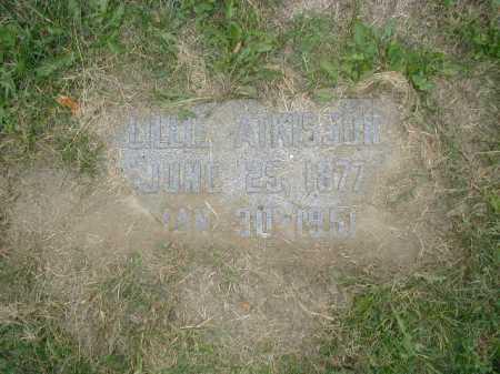 ATKISSON, LILLIE - Douglas County, Nebraska | LILLIE ATKISSON - Nebraska Gravestone Photos