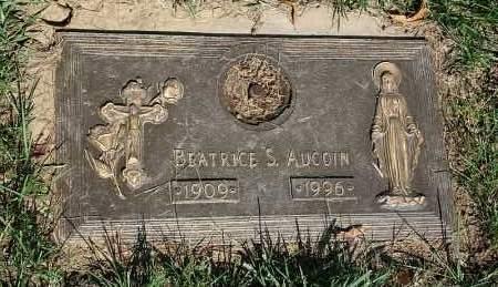 AUCOIN, BEATRICE S. - Douglas County, Nebraska   BEATRICE S. AUCOIN - Nebraska Gravestone Photos
