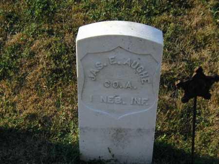 AUGHE, JAMES E - Douglas County, Nebraska | JAMES E AUGHE - Nebraska Gravestone Photos