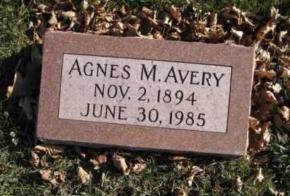 AVERY, AGNES M. - Douglas County, Nebraska | AGNES M. AVERY - Nebraska Gravestone Photos