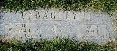 BAGLEY, WILLIAM L - Douglas County, Nebraska | WILLIAM L BAGLEY - Nebraska Gravestone Photos