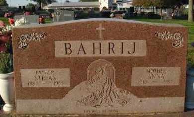 BAHRIJ, ANNA - Douglas County, Nebraska | ANNA BAHRIJ - Nebraska Gravestone Photos