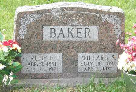BAKER, RUBY E. - Douglas County, Nebraska | RUBY E. BAKER - Nebraska Gravestone Photos
